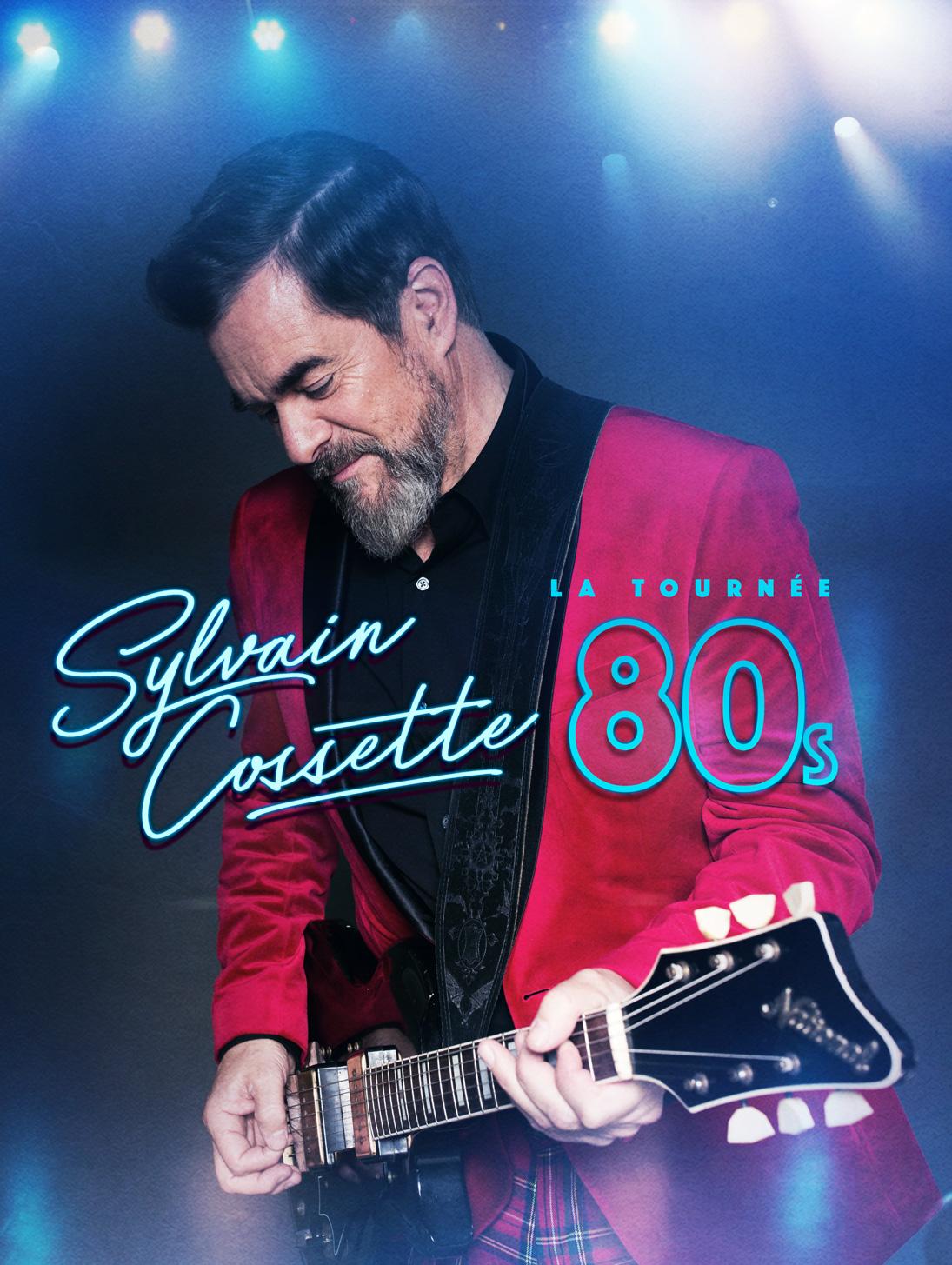 S.Cossette photo promo tournée 80s